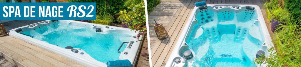 Nagez, courez, tonifiez... et bien lus encore avec notre gamme de spas de nage Aquilus
