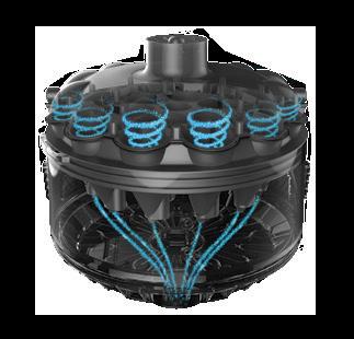 SpinTech, une aspiration constante et puissante de votre robot AquaVac® dans votre magasin Aquilus
