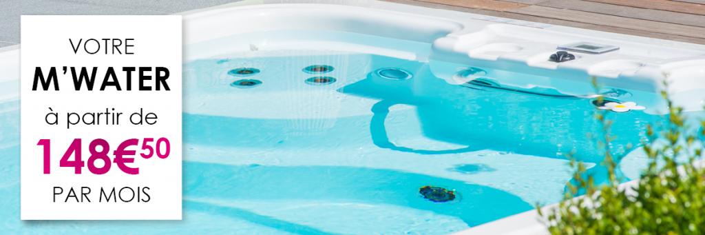 Votre M'Water à partir de 148.50€ par mois jusqu'au 31 octobre dans votre magasin Aquilus
